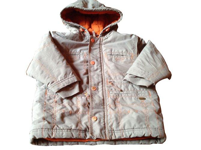Autre Marque Coat Khaki Polyester  ref.45613