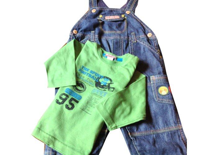 Autre Marque Pants Outfits Denim Blue ref.45636