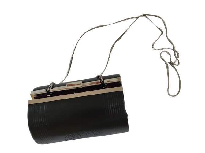 Pre-owned - Leather clutch bag Jean Paul Gaultier NXR5fi90oC
