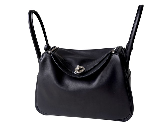 1e5c66fbba1c ... official store hermès lindy 26 handbags leather black ref.46305 0fd69  0e4eb