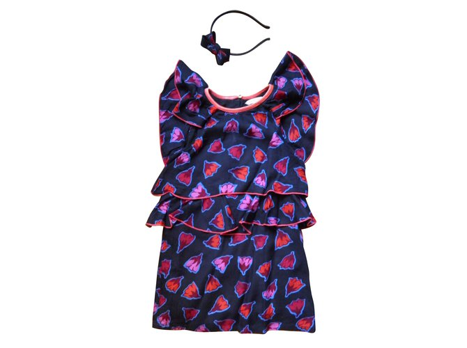 Robes fille Marc Jacobs volants Autre Multicolore ref.46706