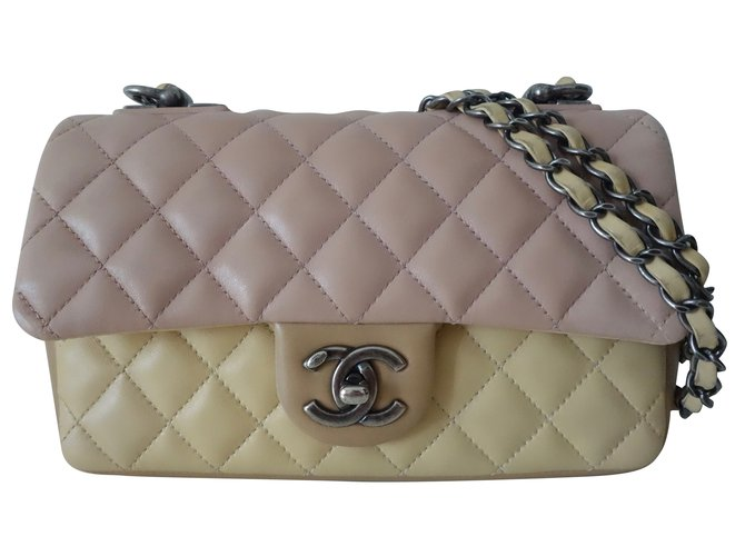 c6d778e0bd84 Chanel TIMELESS TRICOLORE Handbags Leather Multiple colors ref.47113 ...