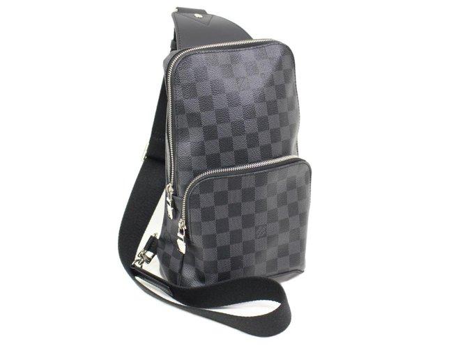 7f1fa5882bd Sacs Louis Vuitton Avenue louis vuitton men Cuir Gris ref.47125 ...