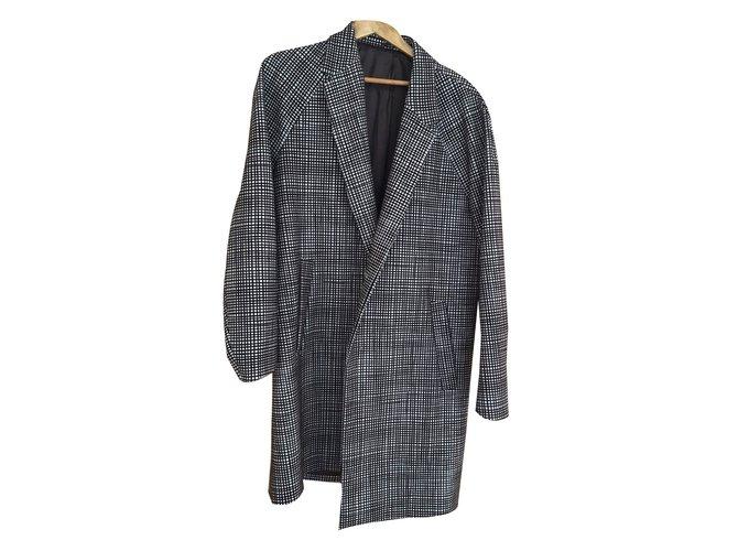 15785054f448 Cos Coat Men Coats Outerwear Wool Grey ref.47353 - Joli Closet