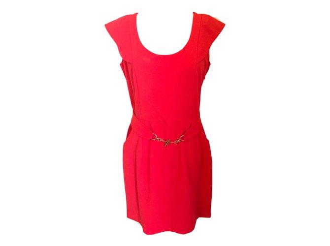 Autre Marque Dresses Coral Polyester  ref.47557