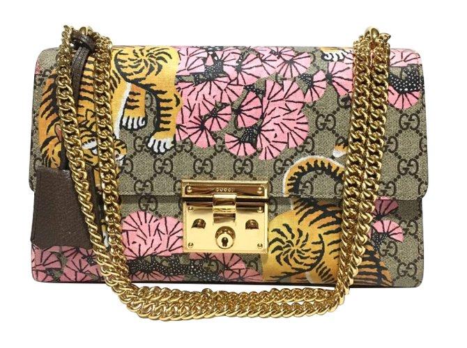Gucci Padlock bengal Handbags Leather Multiple colors ref.47732 ... 6a54a2407dfa4
