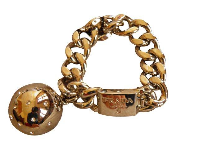 Prada Bracelets Other Silvery Ref 47863