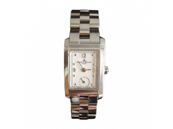 Baume Mercier Hampton Fine Watches Steel Silvery Ref48006