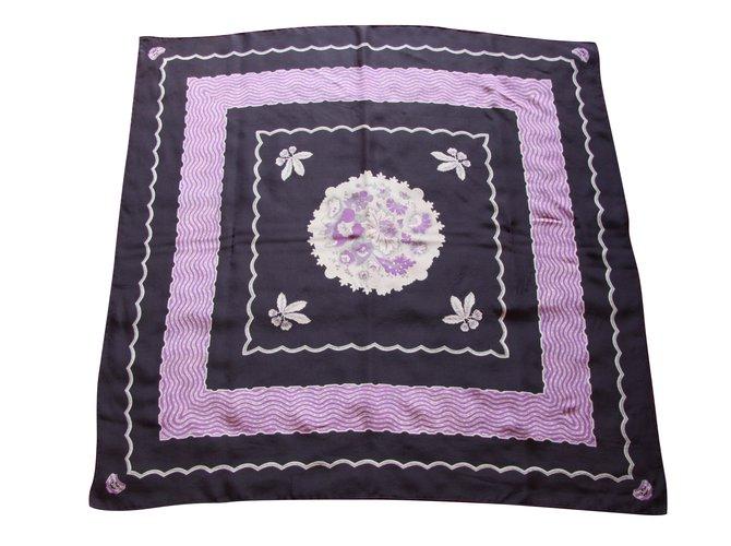 Chloé Silk scarves Silk scarves Silk Black ref.48273
