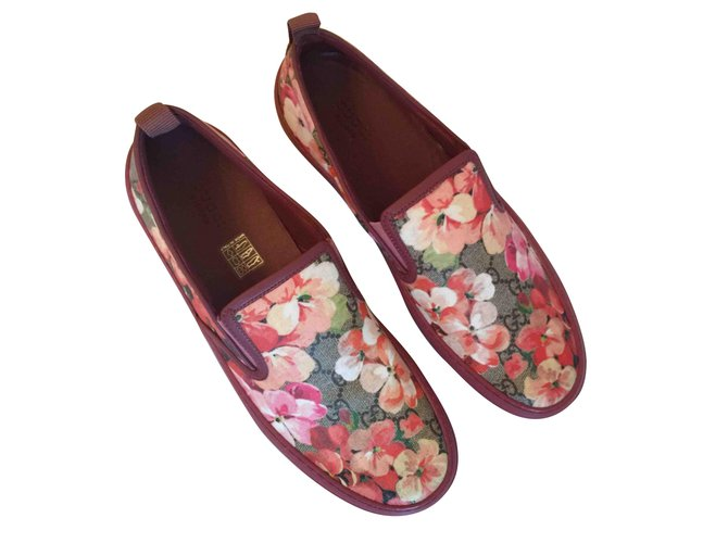 d7be042d1 Gucci Gucci floral sneakers Sneakers Leather Other ref.48285 - Joli ...