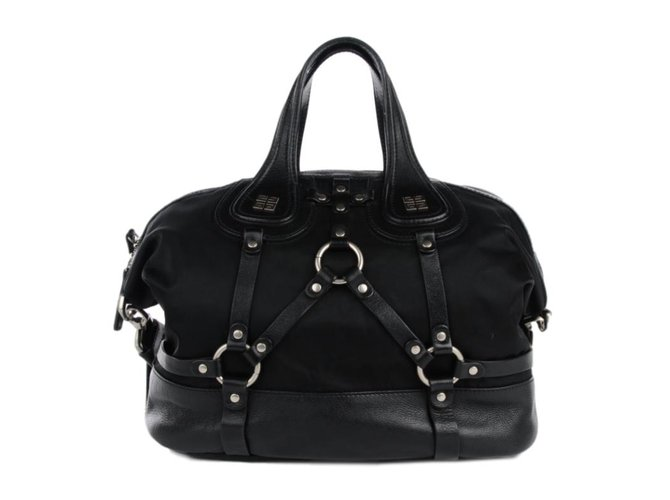 Givenchy Nightingale harness Totes Leather Black ref.48374 - Joli Closet 7022fab718bdf