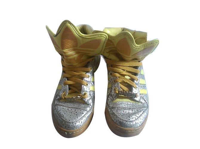 69a0d804e2b5 Jeremy Scott Pour Adidas Sandals Sandals Leather