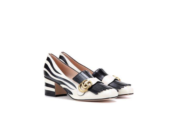 798e73c0b433 Gucci Gucci marmont pumps Heels Leather Multiple colors ref.48683 ...