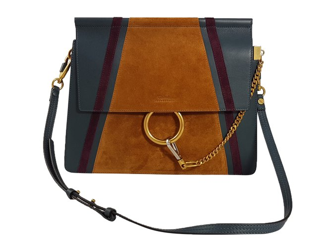 a4df7789f642d Chloé Chloé Faye Shoulder Bag Handbags Leather Multiple colors ref.48737