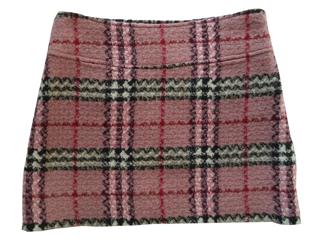 Burberry Skirts Skirts Wool Pink ref.49804