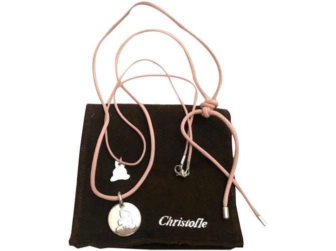 Bijoux Christofle Charlie Bear Argent Argenté ref.49870