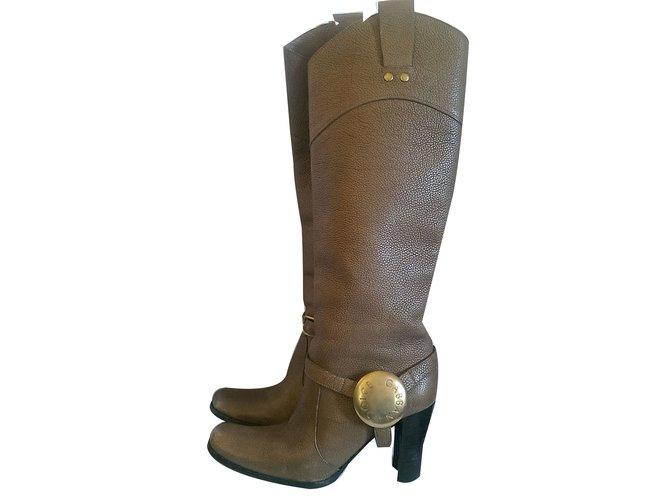 Bottes Dolce   Gabbana Bottes Cuir Autre ref.49910 - Joli Closet 502511662822