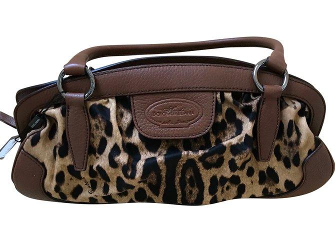 Sacs à main Dolce   Gabbana Sacs à main Autre Imprimé léopard ref.50018 01dd3124439ac