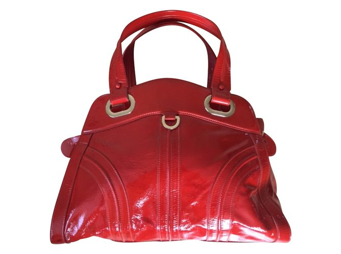 e6a4bb5667 Bally Handbags Handbags Leather Red ref.50083 - Joli Closet
