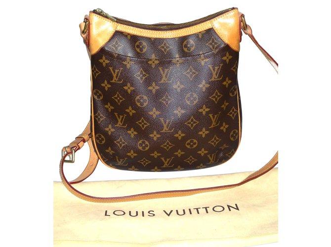 86bc42ee4b78 Louis Vuitton Odéon Handbags Leather