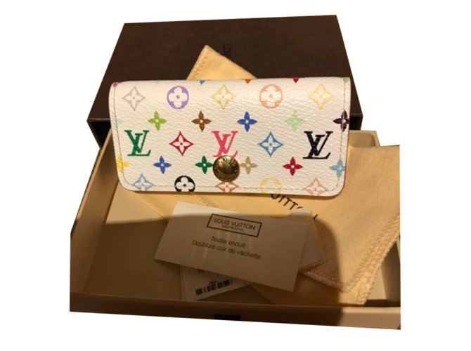 Petite maroquinerie Louis Vuitton Multi cles de la collection murakami Cuir  Multicolore ref.50625 3593b9f3835