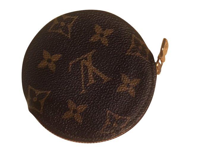 34076d94294f Petite maroquinerie homme Louis Vuitton PORTE-MONNAIE ROND Toile Autre  ref.50940