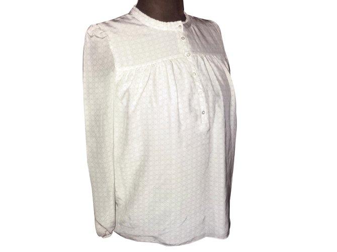 585a290106a1ea Christian Dior Tops Tops Silk Grey ref.50965 - Joli Closet