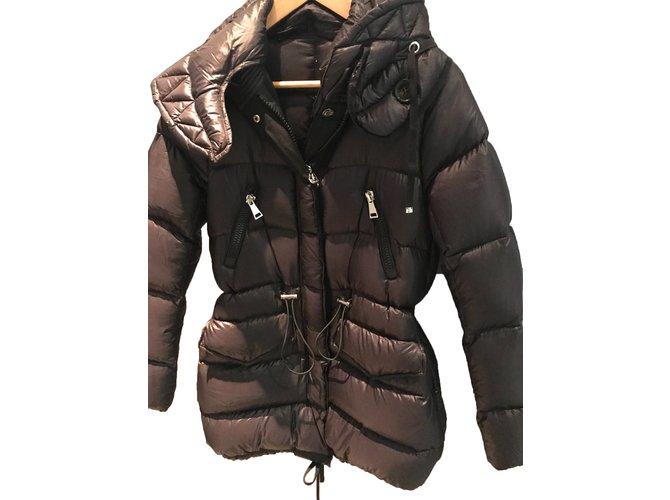 Moncler Moncler jacket in size S Jackets Polyester Black ref.51069
