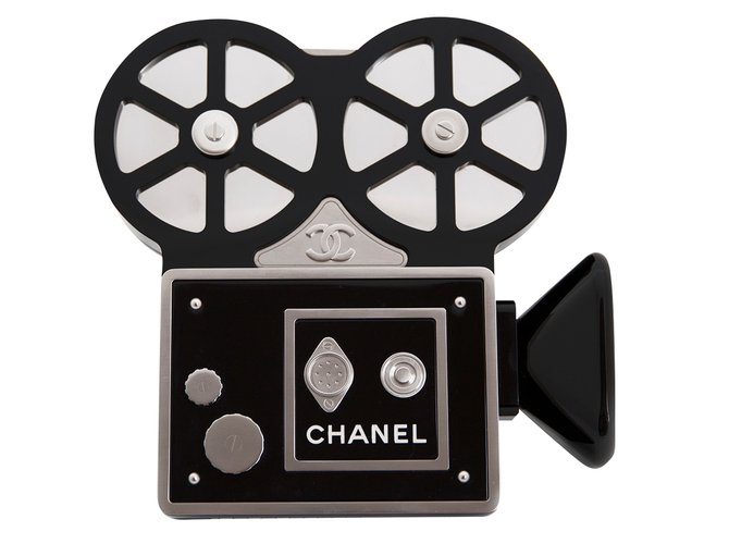 66dcc18f15bf Chanel CHANEL 16A Pre-Fall 2016 Rome Collection Film Camera Minaudière  Handbags Leather,Other