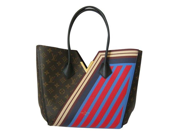 de80c3d74af1 Louis Vuitton Limited Edition Kimono Tote Handbags Leather Brown ref.51382