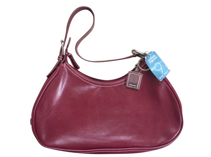Nine West Handbags Leather Red Ref 51656