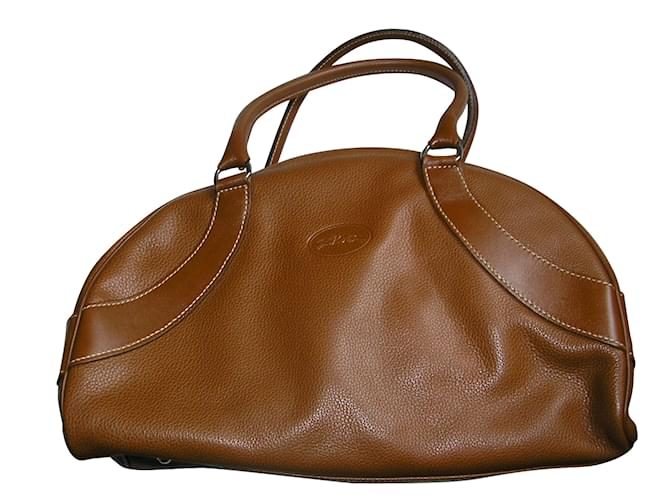 Longchamp Handbags Leather Caramel Ref 51692 Joli