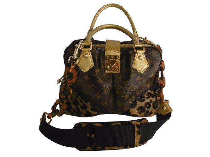 Louis Vuitton Louis Vuitton Adele Leopard Satchel Bag Handbags Patent  leather 28ae3cd8a2a20