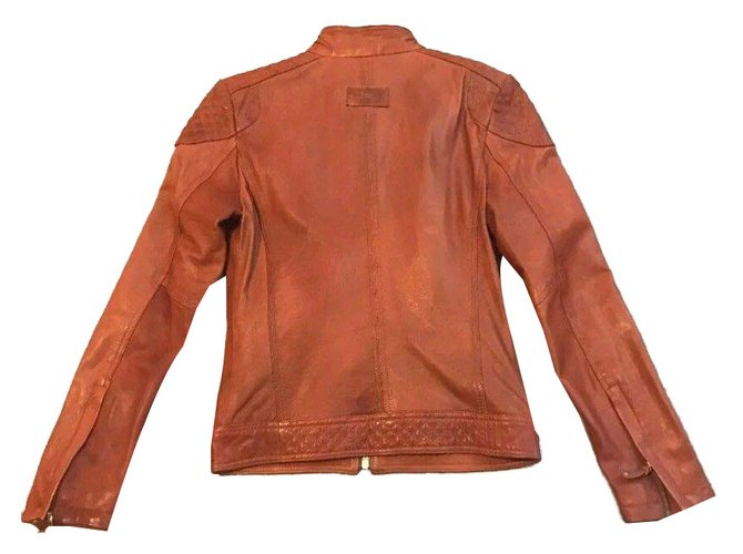 Vestes Orange Joli Ref Blousons 52046 Zara Cuir pwqxrBOnpU