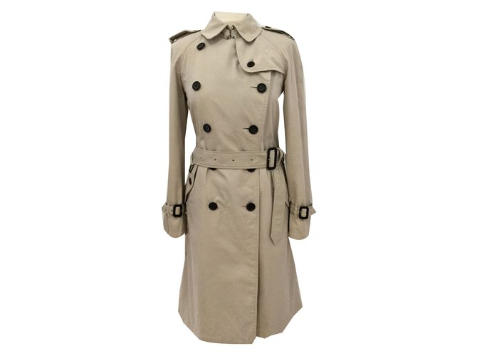 eb0e51468 Burberry Kensington Trench coats Cotton Beige ref.52214 - Joli Closet