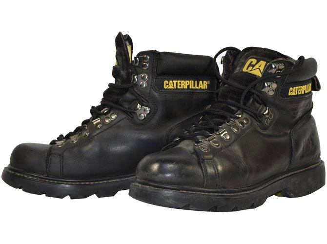 c1bc0f16f10e20 Bottes, boots Autre Marque R025 bottines caterpillar coquees homme t.39 uk  6 Cuir