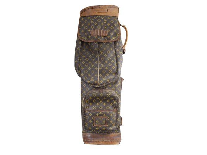 eab8aae0a402 Louis Vuitton Misc Misc Leather Brown ref.52283 - Joli Closet