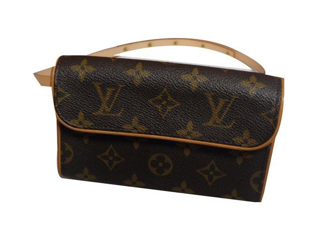 louis vuitton clutch bag. louis vuitton clutch bags cloth brown ref.52470 bag