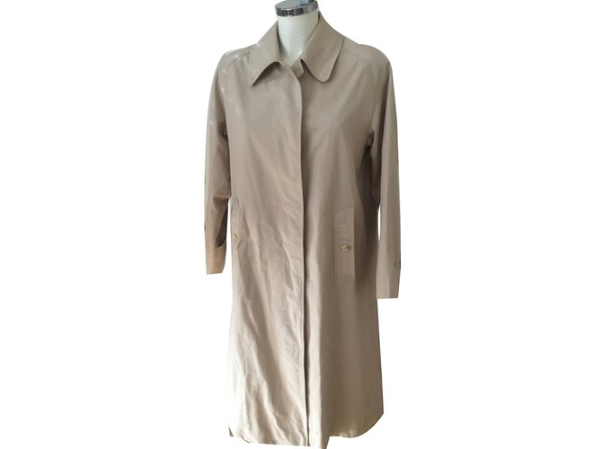 Burberry Trench coats Trench coats Polyester Beige ref.52622