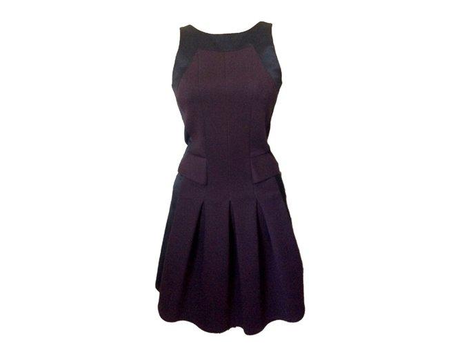 3745d9300b4 The Kooples Dress Dresses Polyester Dark red ref.52627 - Joli Closet