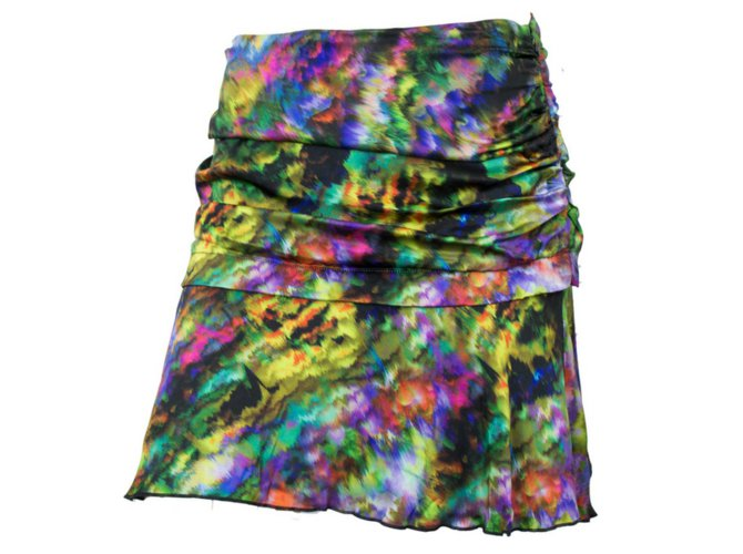 Multi mini skirts size 36 Autre Marque Skirts Skirts Silk Multiple Colors Ref 53125 Joli Closet