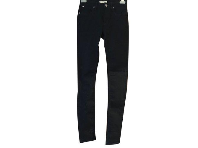 Burberry Jeans Jeans Cotton Black ref.53215