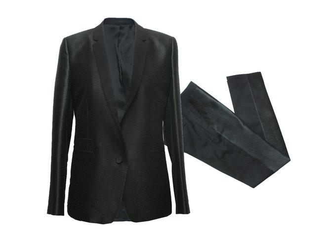 Ref Laine Pantalon 53404 Closet Smoking Tailleur The Joli Noir Kooples xa1nYYgqWw