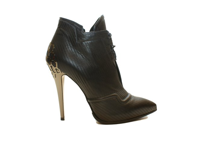 Occasion - Boots open toeFendi M92FRl8Hs