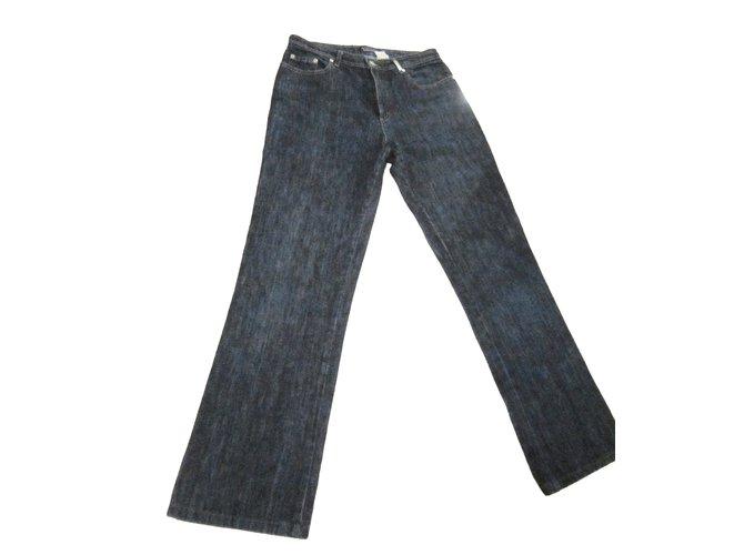 2b20bb2acebd7 Pantalons Sonia Rykiel Pantalons Coton Bleu Marine ref.53407 - Joli ...