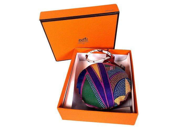 Joli Ref 53467 Bijoux De Hermès Soie Multicolore Petit Closet Sac H eDWIYE2Hb9
