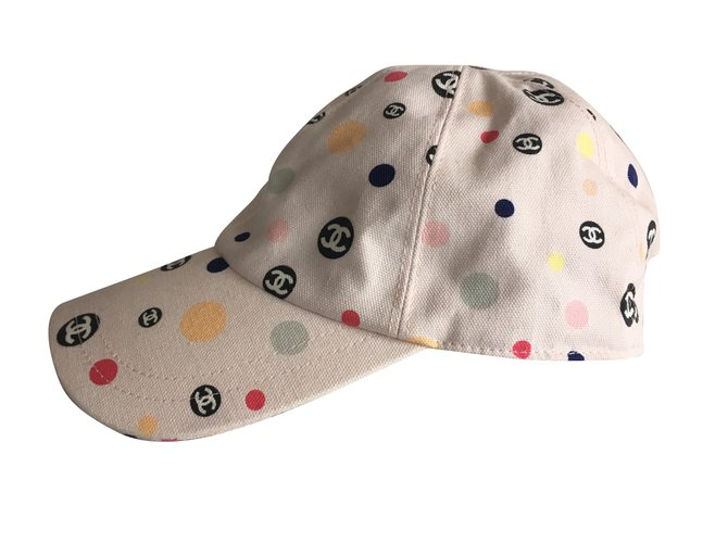 Chanel Hats Hats Cotton Pink ref.53524 - Joli Closet 533bcc39034