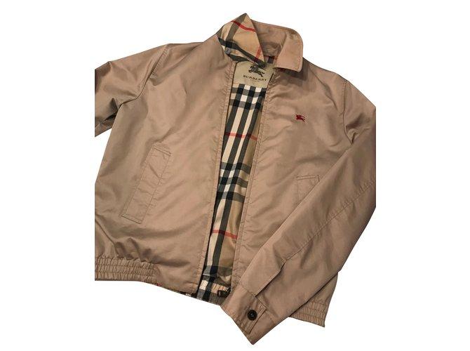 9744f3b94c0b4 Burberry Blazers Jackets Blazers Jackets Cloth Beige ref.53551 ...