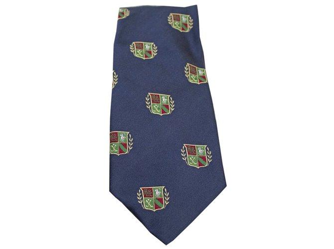 583fe14e4473 Polo Ralph Lauren Ties Ties Silk Navy blue ref.53679 - Joli Closet