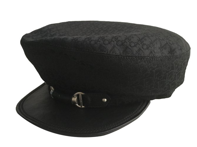 Dior Hats Hats Polyester Black ref.54271 - Joli Closet ef668a3bd82